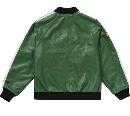 Supreme レザージャケット ◆WEEK1◆SUPREME20SSVANSON LEATHERS PERFORATED BOMBER JACKET(4)