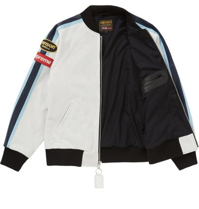 Supreme レザージャケット ◆WEEK1◆SUPREME20SSVANSON LEATHERS PERFORATED BOMBER JACKET(6)