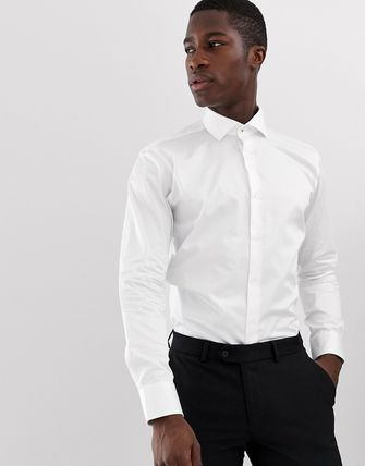 TED BAKER トップスその他 Ted Baker slim fit shirt in white