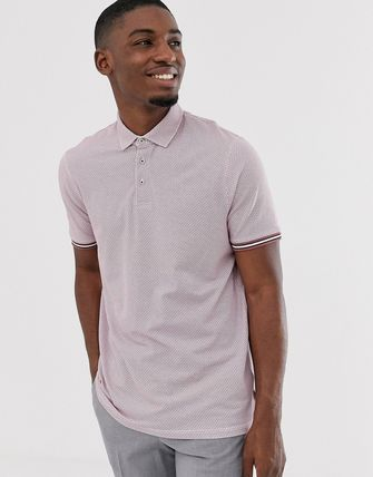 TED BAKER トップスその他 Ted Baker polo shirt with texture and tipping