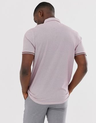 TED BAKER トップスその他 Ted Baker polo shirt with texture and tipping(2)
