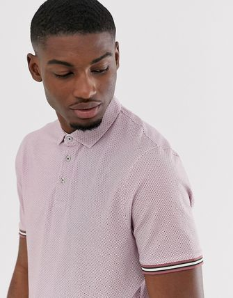 TED BAKER トップスその他 Ted Baker polo shirt with texture and tipping(3)