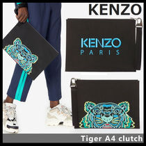 【KENZO ケンゾー】Tiger A4 clutch 5PM302 F20