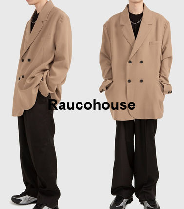 Raucohouse ジャケットその他 Raucohouse OVER DOUBLE BREASTED BLAZER