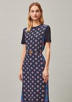 Tory Burch PRINTED SWEATER DRESS