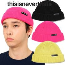 ★thisisneverthat★SP-Logo Short Beanie 3色