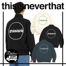 thisisneverthat C-Logo Half Zip Pullover MH1169 追跡付