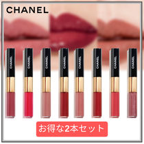 【CHANEL】2本セット リクィッドリップLE ROUGE DUO ULTRA TENUE