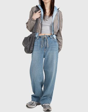 Raucohouse デニム・ジーパン Raucohouse  90'S EASY STRING DENIM PANTS(2)
