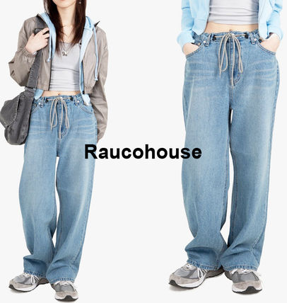 Raucohouse デニム・ジーパン Raucohouse  90'S EASY STRING DENIM PANTS