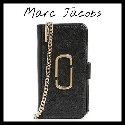 MARC JACOBS スマホケース・テックアクセサリー 【100%正規品】marc jacobs チェーン iPhone ケース 11 Pro