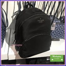 【kate spade】ラップトップ収納可♪ナイロン製large backpack★