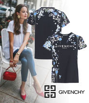 【GIVENCHY】2020SS新作*花柄プリント スリムフィット Tシャツ