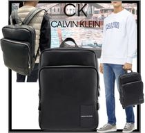 関税込★CALVIN KLEIN★ACC COATED SLIM BACKPACK レア