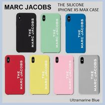 MARC JACOBS★シリコン製☆THE SILICONE iPHONE XS MAX CASE☆