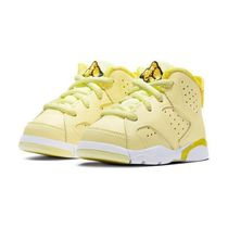 "幼児用かわいい! Baby Jordan 6 Retro ""Citron / Yellow"""