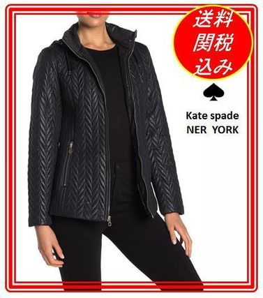 kate spade new york アウターその他 関税.送料込 ケートスペード  Short Quilted Moto Jacket