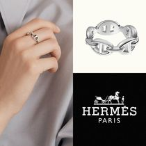 HERMES リング Chaine d'Ancre Enchainee