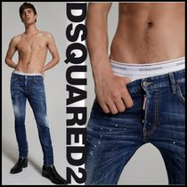 DSQUARED2♠Under Patch Skater Jeans
