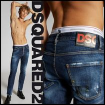 DSQUARED2♠Yellow Spots Broken Cool Guy Jeans