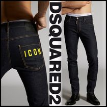 DSQUARED2♠Resin Treatment 3D Cool Guy Jeans