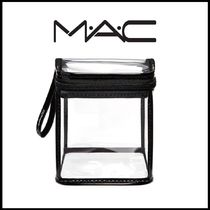 ☆MAC☆ CLEARLY/CUBE 透明クリア キューブポーチ 日本未入荷