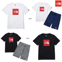 【新作】THE NORTH FACE ★ K'S BOX LOGO EX LOUNGEWEAR SET
