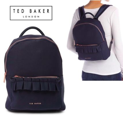 TED BAKER バックパック・リュック 関税・送料込 TED BAKER テッドベイカー Ruffleバックパック