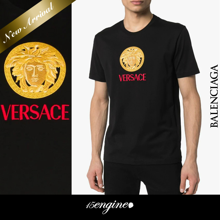 COOL☆Medusa Logo Embroidery Tシャツ☆VERSACE (VERSACE/Tシャツ・カットソー) 51477385