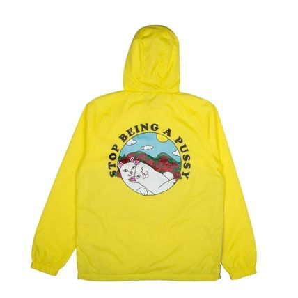 RIPNDIP ジャケットその他 Ripndip Cuddle Anorak Jacket Yellow XL