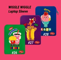 ☆WIGGLE WIGGLE☆Laptop Sleeveノートパソコンケース#026〜028