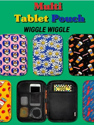 ☆WIGGLE WIGGLE☆マルチタブレットポーチ☆Tablet Pouch
