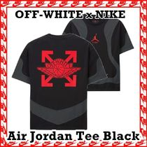 OFF-WHITE x NIKE Air Jordan Tee Black 2020 SS 20