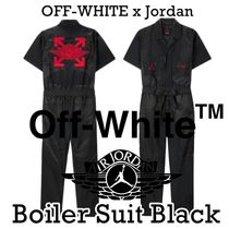 OFF-WHITE x NIKE Air Jordan Boiler Suit Black 2020 SS 20