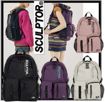 関税込 日本未入荷★SCULPTOR★Double Pouch Nylon Backpack 4色