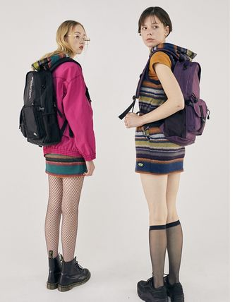SCULPTOR バックパック・リュック 関税込 日本未入荷★SCULPTOR★Double Pouch Nylon Backpack 4色(2)