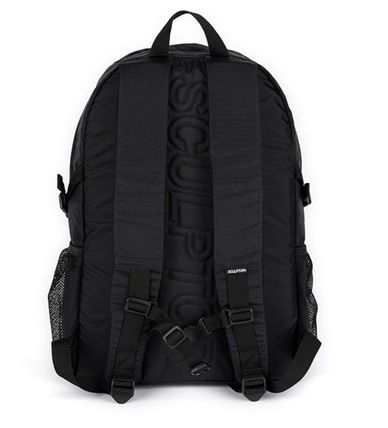 SCULPTOR バックパック・リュック 関税込 日本未入荷★SCULPTOR★Double Pouch Nylon Backpack 4色(6)