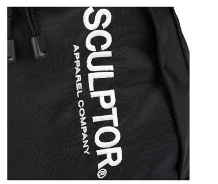SCULPTOR バックパック・リュック 関税込 日本未入荷★SCULPTOR★Double Pouch Nylon Backpack 4色(7)