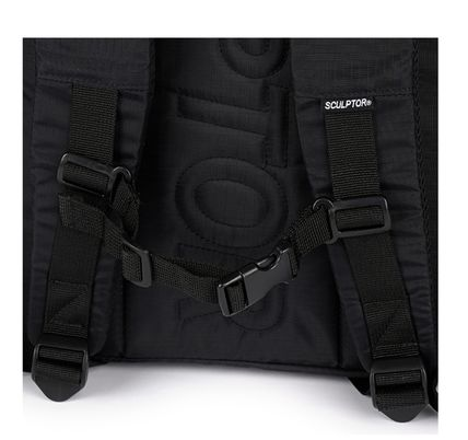 SCULPTOR バックパック・リュック 関税込 日本未入荷★SCULPTOR★Double Pouch Nylon Backpack 4色(10)