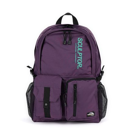 SCULPTOR バックパック・リュック 関税込 日本未入荷★SCULPTOR★Double Pouch Nylon Backpack 4色(13)