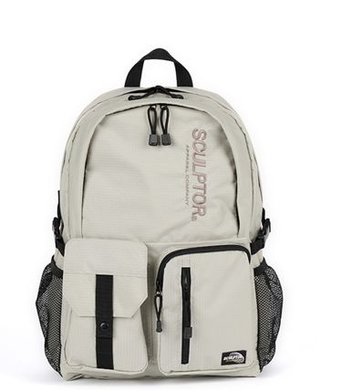 SCULPTOR バックパック・リュック 関税込 日本未入荷★SCULPTOR★Double Pouch Nylon Backpack 4色(15)