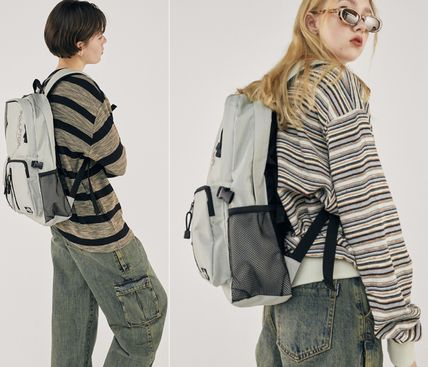 SCULPTOR バックパック・リュック 関税込 日本未入荷★SCULPTOR★Double Pouch Nylon Backpack 4色(19)