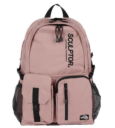SCULPTOR バックパック・リュック 関税込 日本未入荷★SCULPTOR★Double Pouch Nylon Backpack 4色(20)