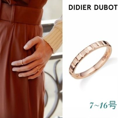 DIDIER DUBOT◆DUAL DD 14K Rose Gold リング 11号