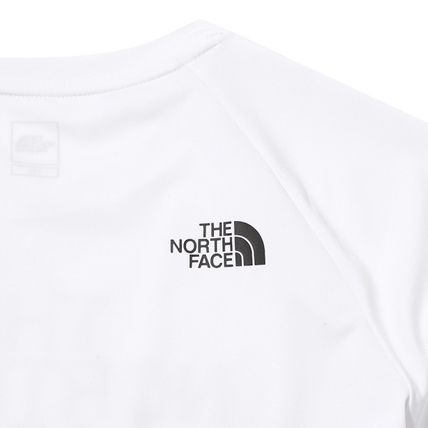 THE NORTH FACE キッズスポーツウェア 【THE NORTH FACE】K'S SUN FREE BIG LOGO LOUNGE SET White(7)