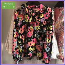 【kate spade】復刻柄★華やか花柄♪wildflower bouquet blouse