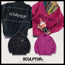 ◆SCULPTOR◆ TRIPLE STITCHED WINDBREAKER JACKET (全2色)