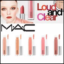 ☆MAC☆ 新作 LOUD AND CLEAR LIPGLASS リップグロス