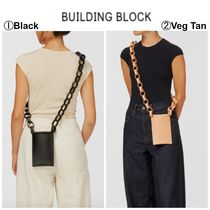 Building Block(ビルディングブロック) ショルダーバッグ・ポシェット 【Building Block】●大人気●iPhone Sling with Leather Chain
