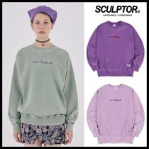 ☆SCULPTOR☆ スウェット [Unisex] Snow Wash Sweatshirt